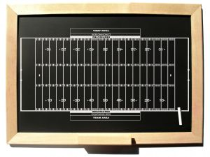 Chalkboard Football by Brian S